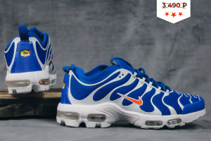 Кроссовки Nike AIR MAX PLUS TN ULTRA dk/blue/Orange