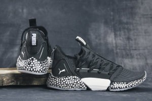 Кроссовки Puma Hybrid Rocket Runner black-iron/wnite