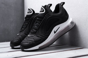 Кроссовки Nike Air Max 720  Black White Shoes