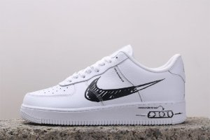 Nike Air Force 1 Low Sketch