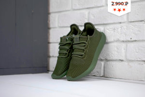 Кроссовки Adidas Tubular shadow knit Army Green