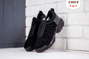 Кроссовки NIKE TN blackish green/black