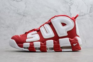 Кроссовки Nike AIR MORE UPTEMPO Red\white